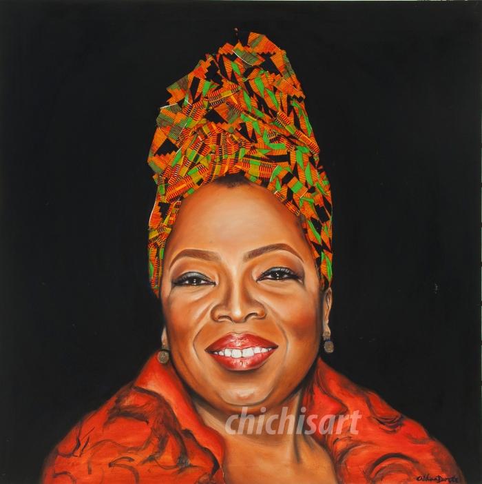 SBW Oprah Winfrey-Chidinma Dureke Mix Media 2013