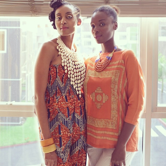 Ngozi and Zainab played by Esosa E and Maame Adjei
