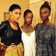 3/5 of An African City cast
