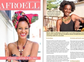 AfroElle Magazine interview
