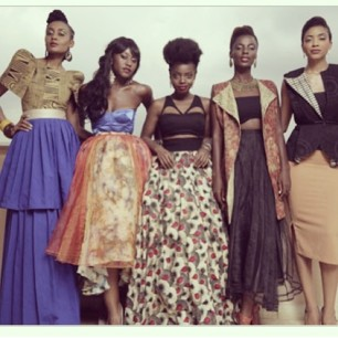 An African City cast