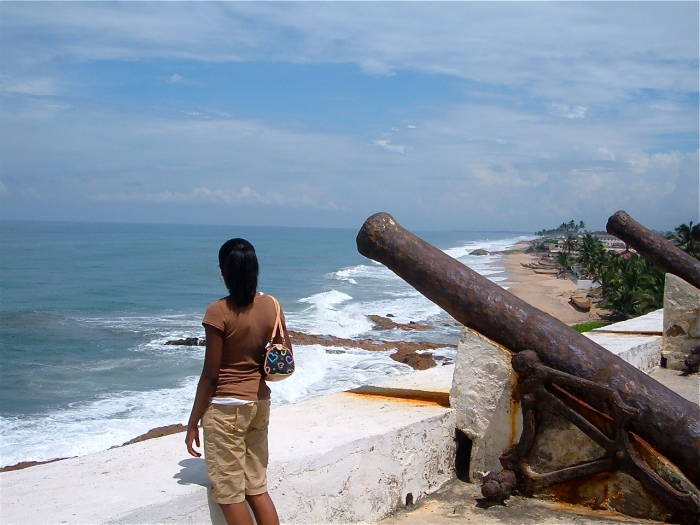 Cape Coast Slave Castle 2006 (Two years after my teacher put me on blast)..lol