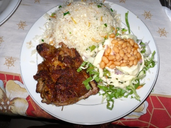 Fried Rice & chicken 2010