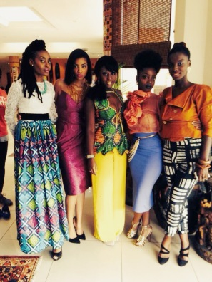 (l to r) Ngozi, Makena, Sade, Nana Yaa & Zainab