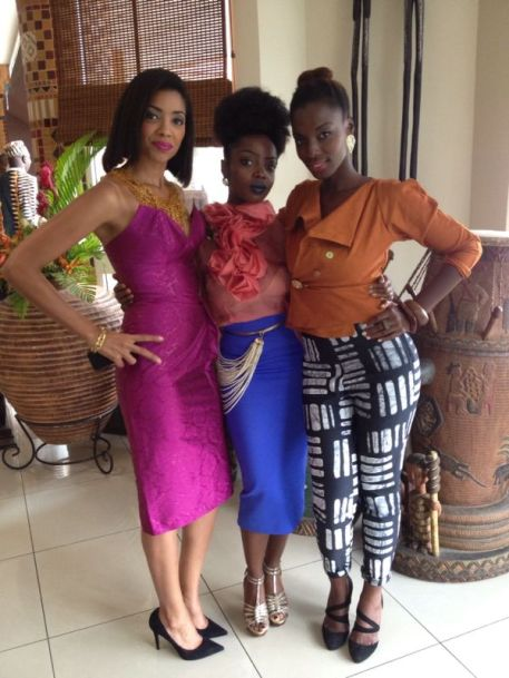 (l to r) Makena, Nana Yaa & Zainab