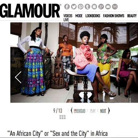 Feature on GLAMOUR France