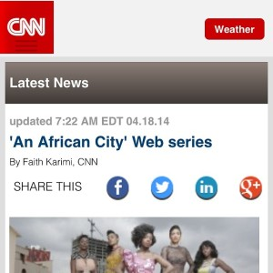 CNN interview with show's creator Nicole Amarteifio