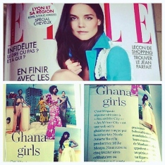 Feature in ELLE France