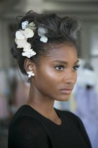 Fashion model Melodie Monrose