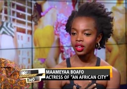 Actress MaameYaa Boafo