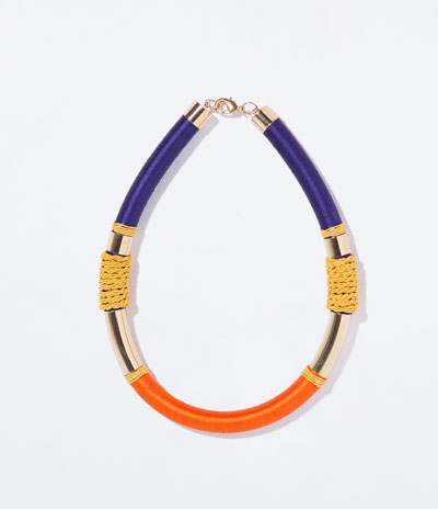 Zara Tube necklace