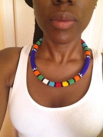 My Zulu Bead necklace