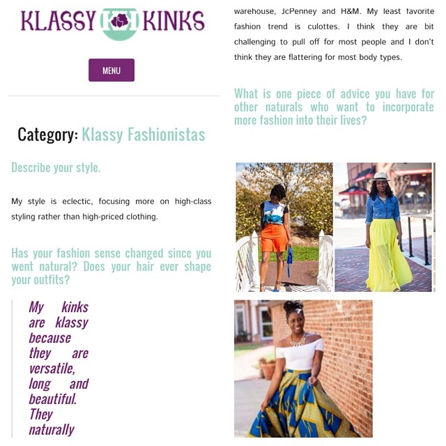 Klassy Fashionista