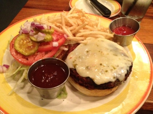 Copper Canyon Grill Veggie burger