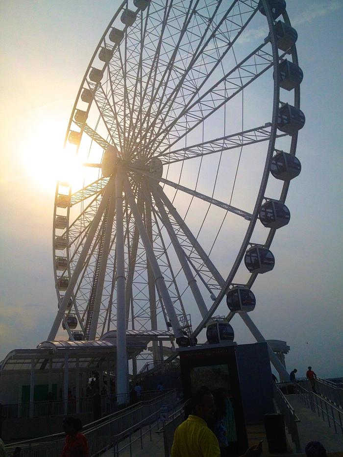 capital wheel at the national harbor