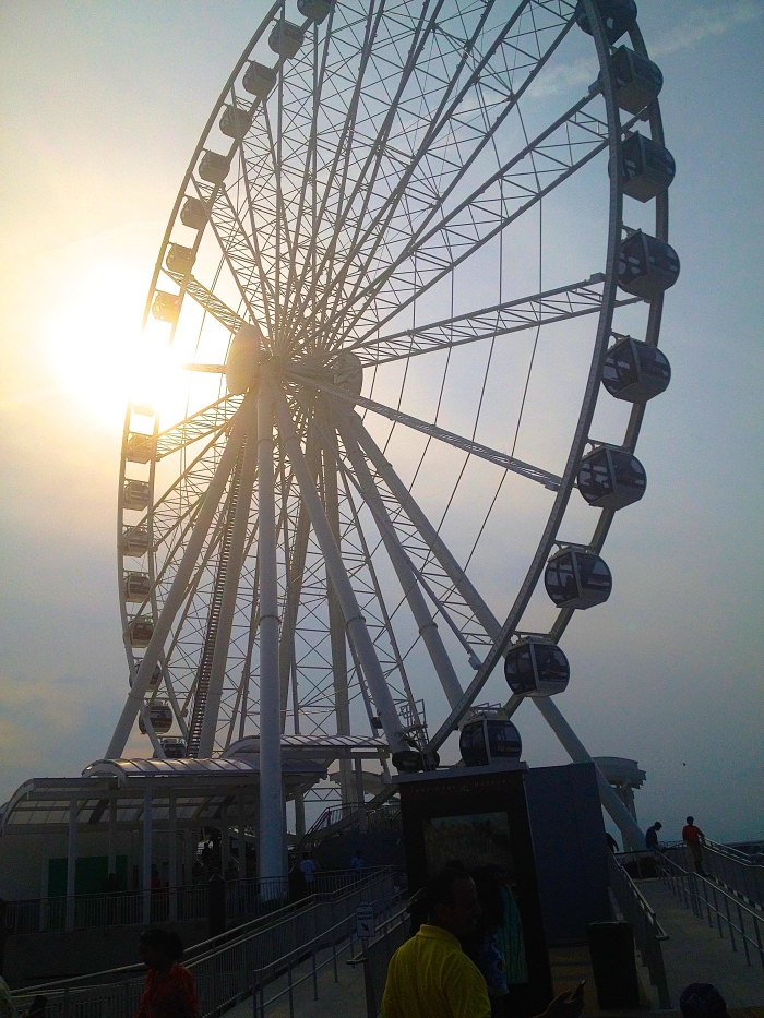 capital wheel at the national harbor