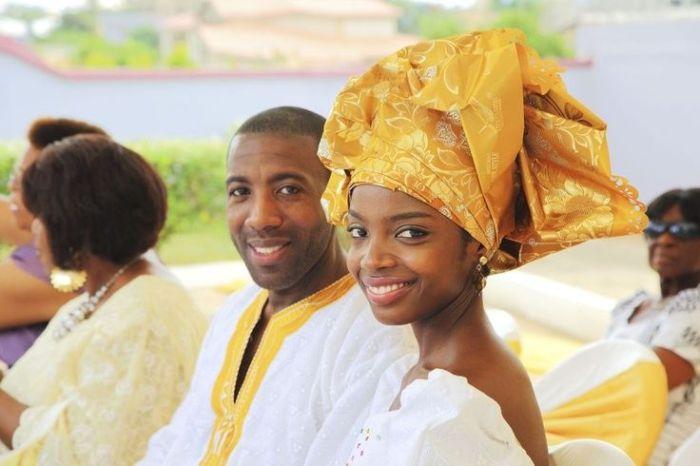 Actress MaameYaa Boafo and Singer husband Abiah