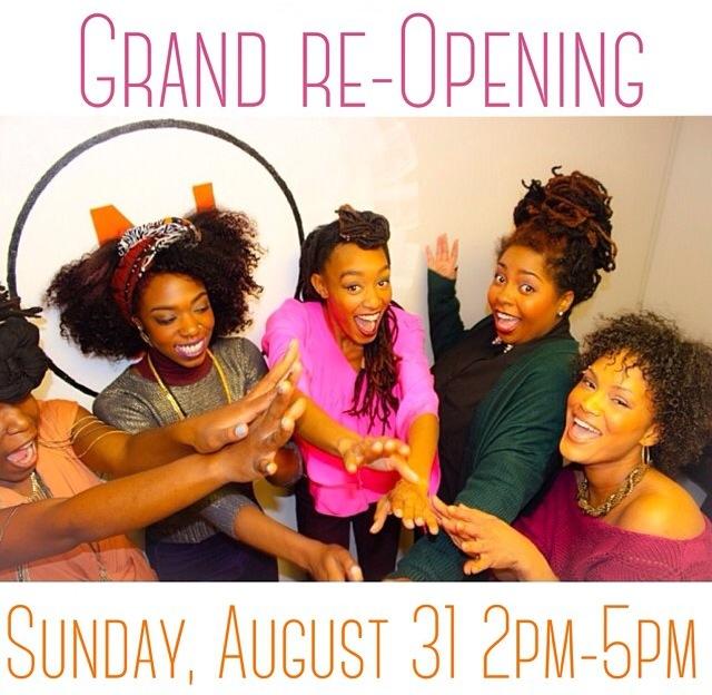 N Natural Grand Reopening