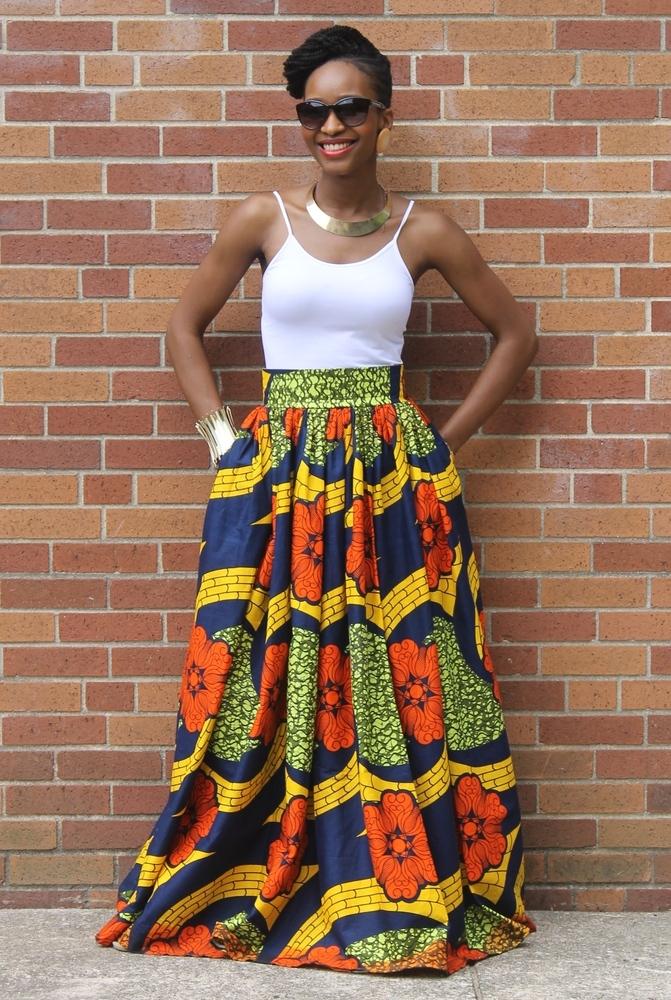 Cute African Print Skirts! - Amma Mama