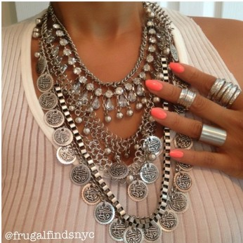 FrugalFinds NYC:Arabia Necklace $39.99