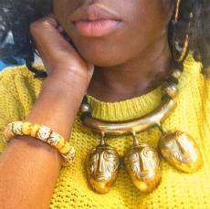 Fanm Djamn Dzugudini necklace