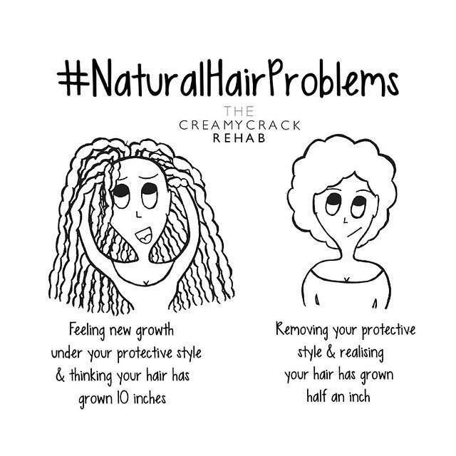 Image result for natural hair protective style meme