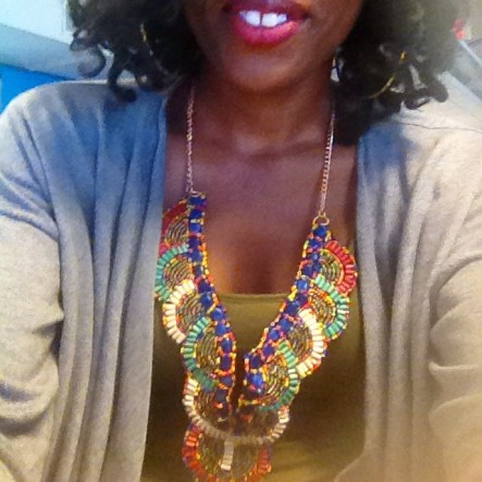 Frugal Finds NYC: Vibrant Boho Collar Necklace I