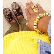 Krobo beads, Keds and Aldo ring