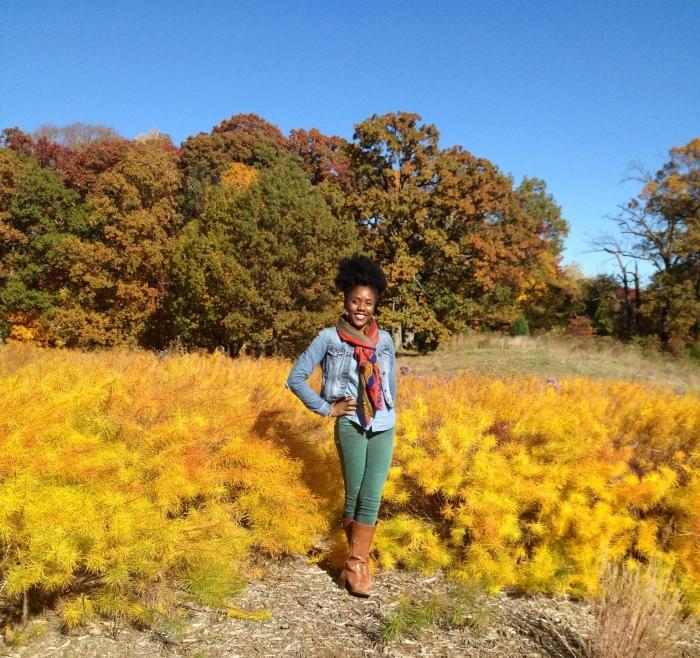 Last fall at the U.S. National Arboretum