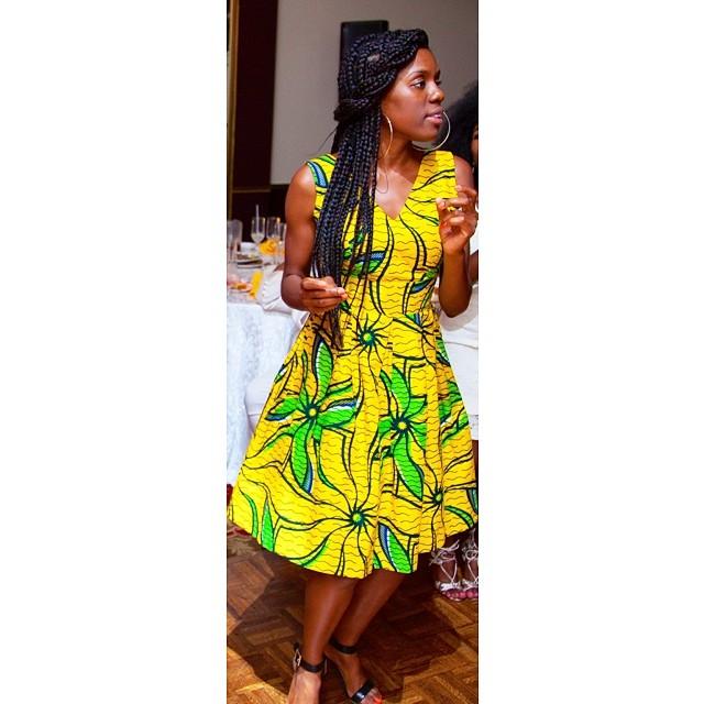 Dress From Aziza SHopping