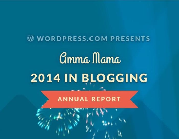 2014 yr in blogging