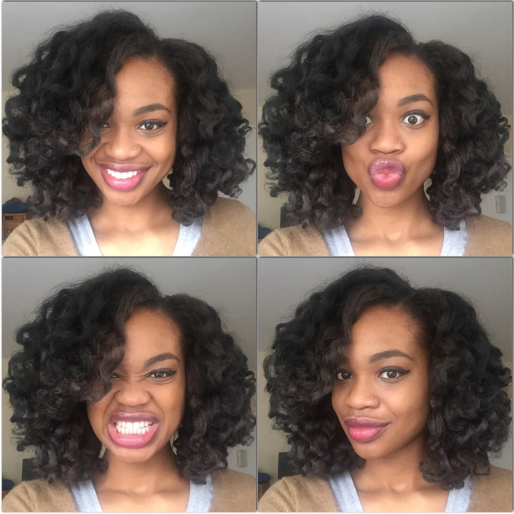 Black Star, This week in Crochet Braids...