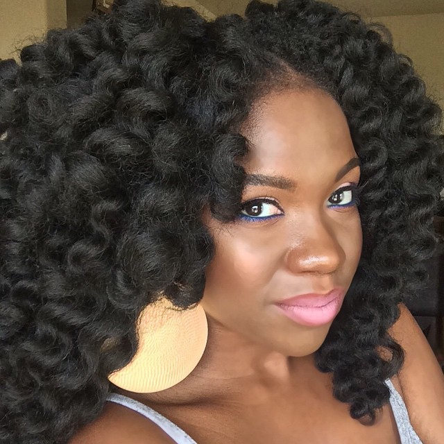 Crochet Hair Making : Black Star, This week in Crochet Braids...
