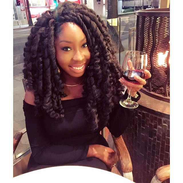 Crochet Hair Nigeria : ... is rocking some crochet braids below! She shares some details here