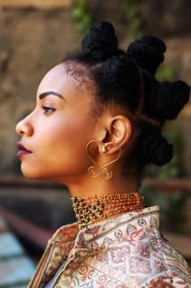 sankofa stud earrings