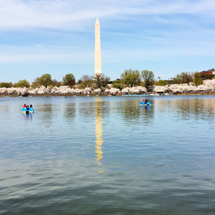 The Washington Monument from the Tidal Basin