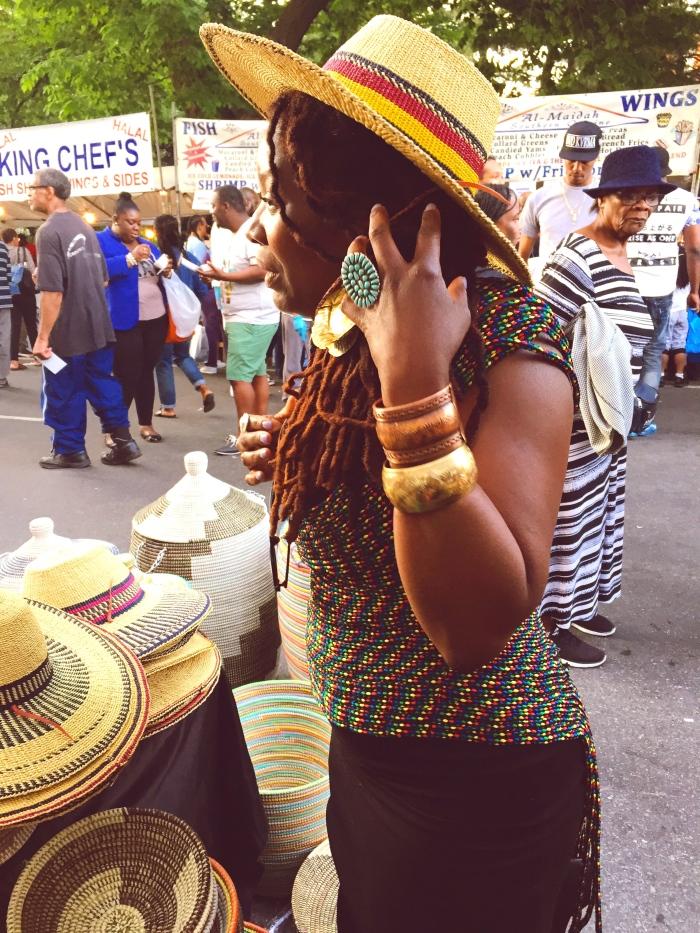 Anika Hat Shopping