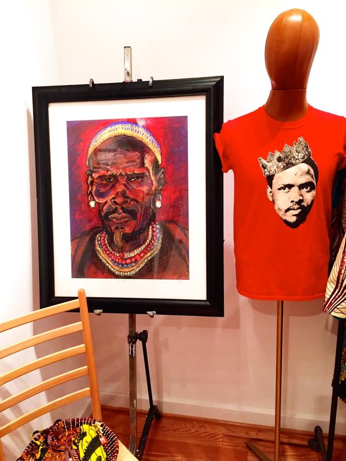 Wesley Clark art X Steve Biko