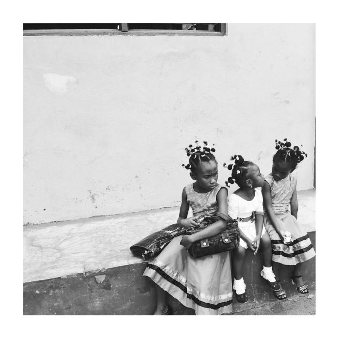 Three Little Girls Photo Credit: Amma Mama