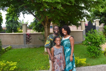 bro, sis in law and niece