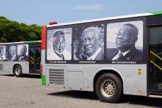 Outside of Ghana Parliment