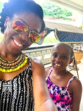 Twinning with my niece